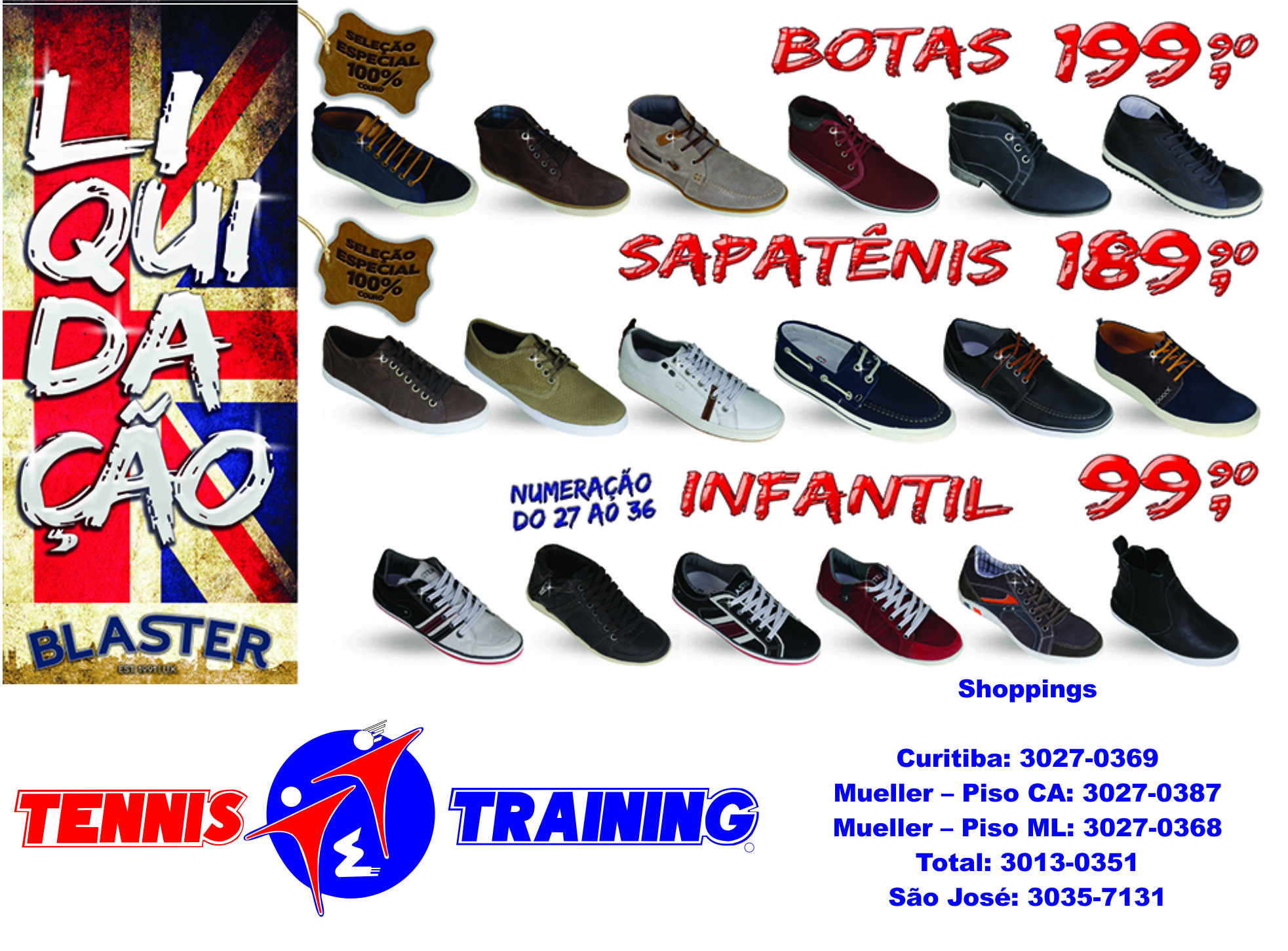 cd5042f4cf5fc Nova Promoção da Tennis   Training!