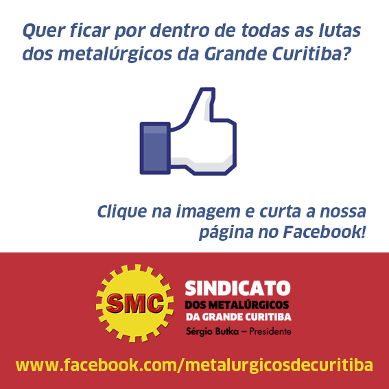 Curta o SMC no Facebook!